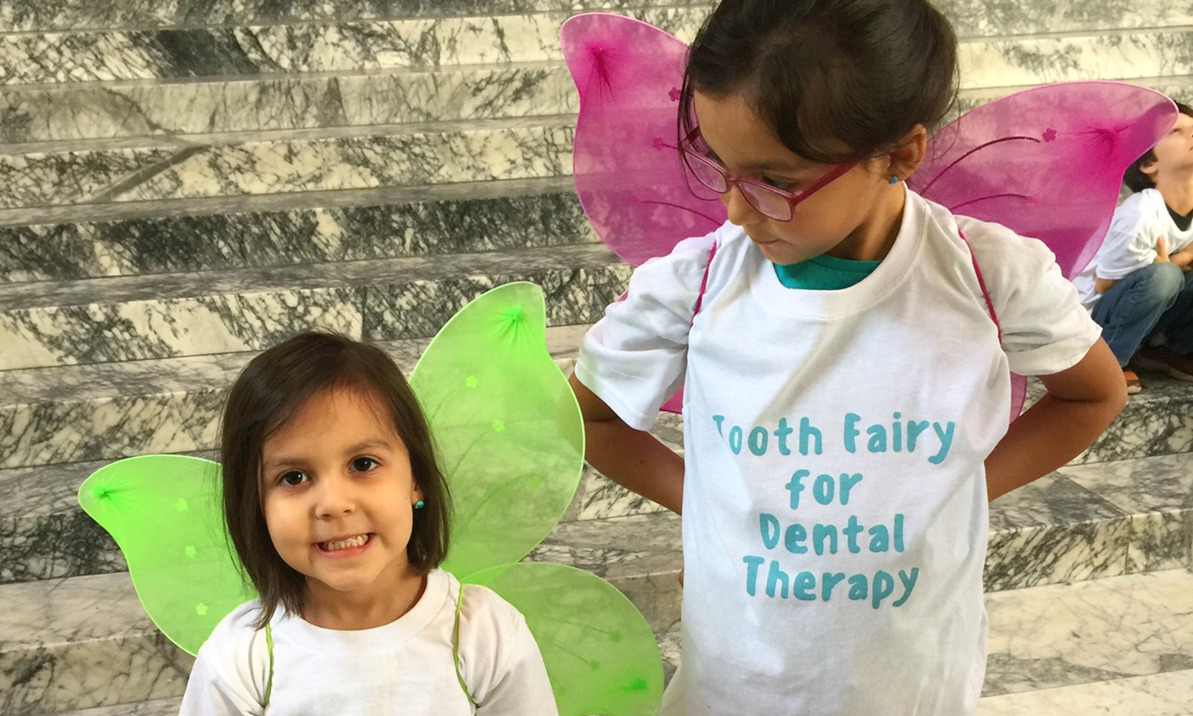 Tooth fairies for oral health care