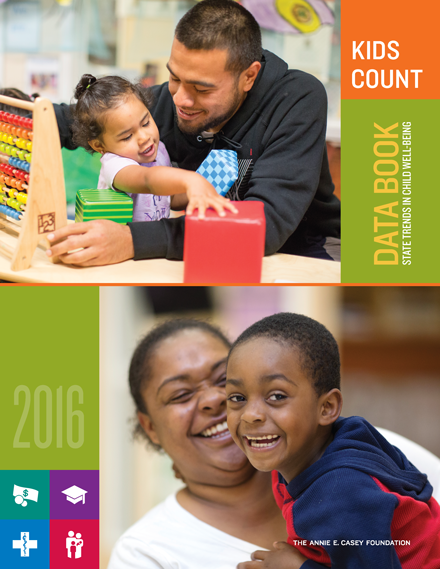 2016 KIDS COUNT Data Book - Cover
