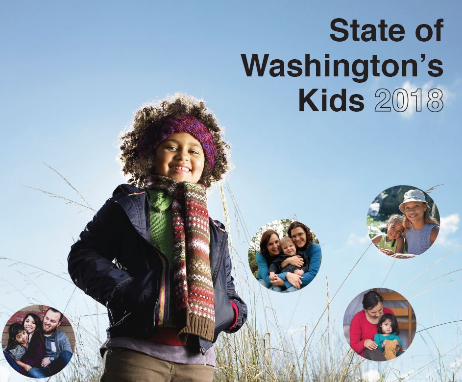 Cover image: state of Washington's Kids 2018