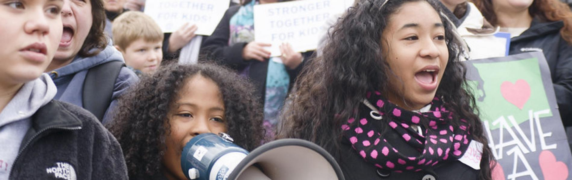 Young advocates in Olympia